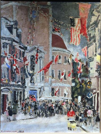 elspie-langdon-down-painting-kingston-museum