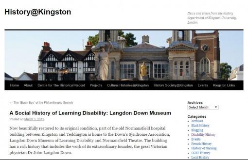 History@Kingston Blog Mar 15