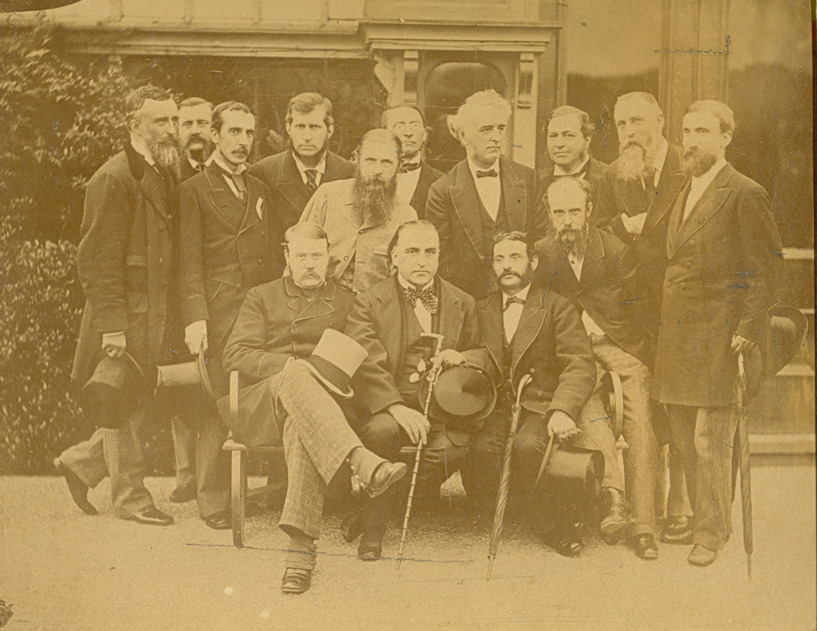 JLD hosting the BMA's visit to Normansfield 1895