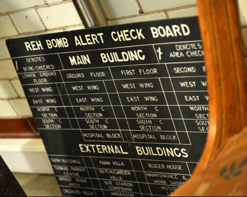 Earlswood Bomb Alert Check Board