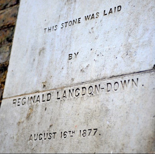 Reginal Langdon Down Foundation Stone