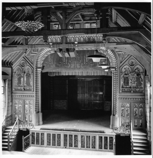 Theatre 1895 photo by reginald