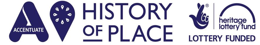 History of Place logo